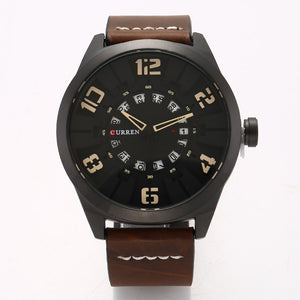 men's watches calendar men's watches quartz leather strap watches