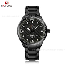 Load image into Gallery viewer, Men's Quartz Watch Waterproof Business Steel Band