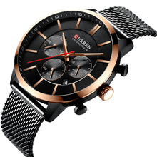 Load image into Gallery viewer, Men's watch - net band watch multi-functional business men's watch