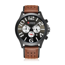 Load image into Gallery viewer, Men's Watch Six Hands Single Calendar Leather Men's Watch