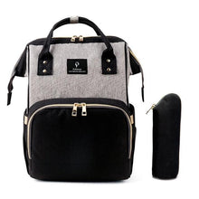 Load image into Gallery viewer, Large-capacity Multi-function USB Interface Casual Shoulder Mummy Bag