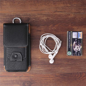 Retro Earphone Multifunction Mobile Universal Bag Waist Bag