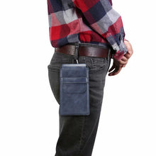 Load image into Gallery viewer, Mens Outdoor Sport Casual Purse Mobile Phone Waist Bags