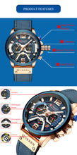 Load image into Gallery viewer, Man's automatic mechanical six - needle watch
