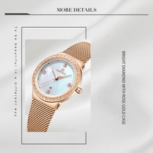 Load image into Gallery viewer, Women's Webbing Women's Calendar Women's Watch
