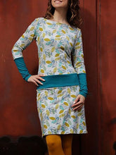Load image into Gallery viewer, Casual Long Sleeve Printed Dresses
