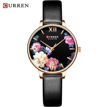Load image into Gallery viewer, Women's Watch Leather Strap Watch Waterproof Quartz Women's Watch