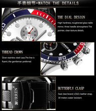 Load image into Gallery viewer, men's watches calendar men's watches waterproof quartz watches