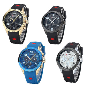 Men's watches Men's watches with rubber straps