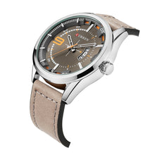 Load image into Gallery viewer, Men's Watch Leather Leather Men's Watch Waterproof Quartz Business Watch