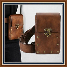 Load image into Gallery viewer, Steampunk Side Bag Retro Fashion Waist Bag