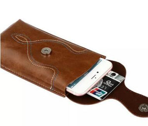 Outdoor Multifunctional Double-layer Universal Mobile Phone Waist Bag