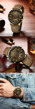Load image into Gallery viewer, Men's watch  waterproof Quartz Watch  Belt Watch