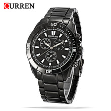 Load image into Gallery viewer, Men's Watch Waterproof Quartz Men's Steelband Men's Watch