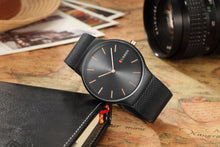 Load image into Gallery viewer, Men's Watch Waterproof Quartz Steel Band Men's Watch