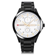 Load image into Gallery viewer, Men's watches Waterproof quartz watches steel band men's watches