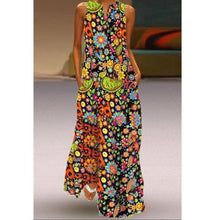 Load image into Gallery viewer, Fashion Printed Long pocket Dresses
