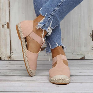 Casual Solid Color Flats
