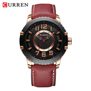 Men's watch  waterproof Quartz Watch  Belt Watch