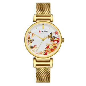 Women's Watch Webbing Watch Waterproof Quartz
