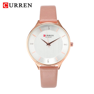 Leather Watches Waterproof Quartz Watches