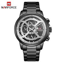 Load image into Gallery viewer, Men's Watch 6 Hands Quartz Steel Band Watch