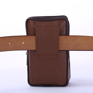 Men's Multifunction Wallet Phone Waist Bag