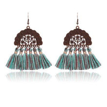 Load image into Gallery viewer, Alloy Vintage Boho Holiday Daily Fringed Tassels Earrings