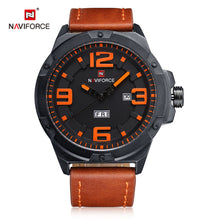 Load image into Gallery viewer, Men's Watch Quartz Calendar Waterproof Leather Men's Watch