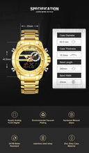 Load image into Gallery viewer, Men's watches Digital watches with steel bracelet