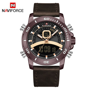 Men's Belt Watch Waterproof Men's Watch Quartz