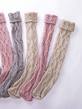 Load image into Gallery viewer, Women Winter Warm Socks Knitted Knee High Socks