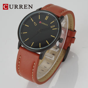 Men's Watch Belt Men's Watch Casual Business Waterproof Quartz Watch