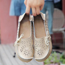 Load image into Gallery viewer, Women Casual Hollow Out Slip-on Flats