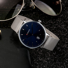 Load image into Gallery viewer, Men's Watches Men's Watches with Calendar Strap