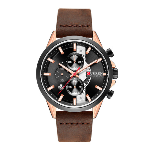Men's Watch Belt Watch Waterproof Quartz