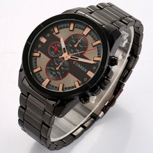 Load image into Gallery viewer, Men's Watches Steel Band Quartz