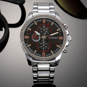 Men's Watches Steel Band Quartz