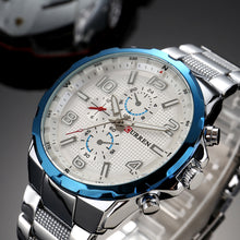 Load image into Gallery viewer, Steel band quartz watches Waterproof watches