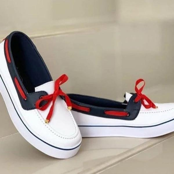 New Fashion Women's Dockside Flat Shoes