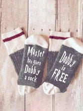 Load image into Gallery viewer, Womens Master has given Dobby a Socks  Cotton Letter Socks