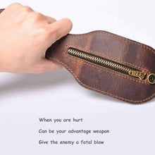 Load image into Gallery viewer, Men Multi-Tool Coin Purse Outdoor Self-Defense Wallets