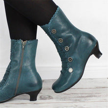 Load image into Gallery viewer, Women Elegant Daily Buckle Comfy Boots