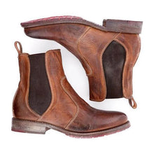 Load image into Gallery viewer, Women's Vintage Ankle Slip-on Short Boots