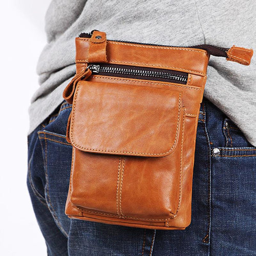 Outdoor Leisure Multifunctional Zipper Waist Bag