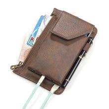Load image into Gallery viewer, Men's Vintage Solid Messenger Waist Bag