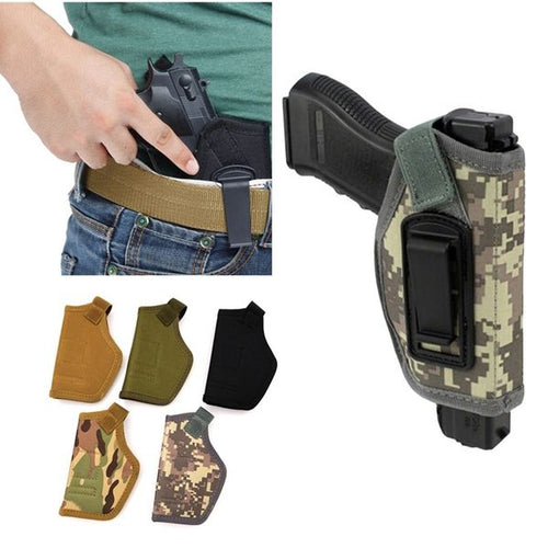 Outdoor tactical IWB concealed tactical holster