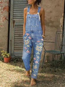 Casual Denim Shift Pants