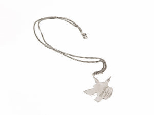 Dog pendant necklace LUGOSIS + GORAN KLING - SILVER