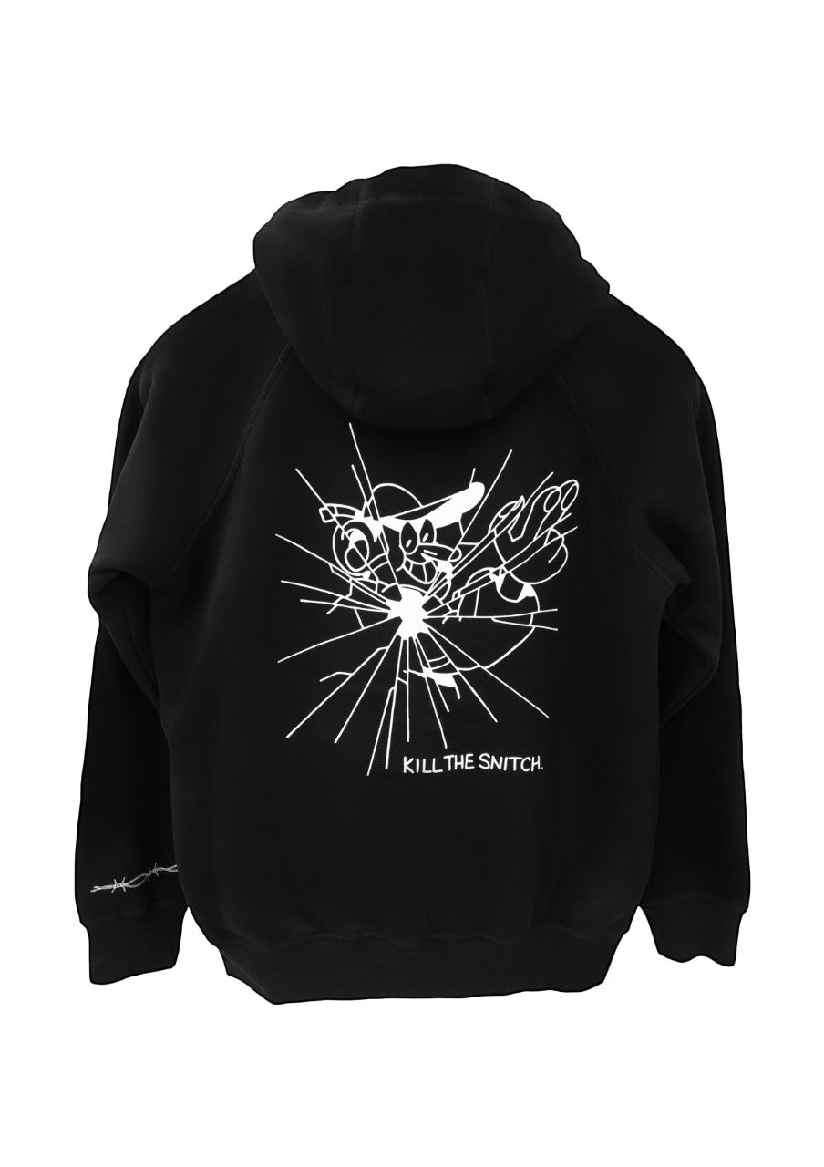 "Lugosis HOODIE ""Kill the Snitch"" Black"